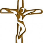 Simple Sketch of Crucifix
