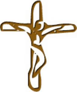 Simple Sketch of Crucifix