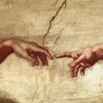 Michelangelo's painting, Creation of Adam