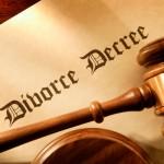 picture of a divorce decree