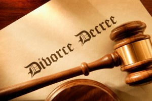 picture of a divorce decree