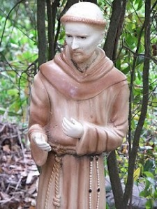 statue of saint francis