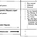 1990 census form marital status section