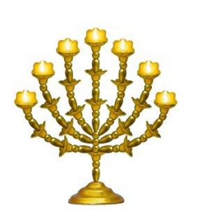 golden lampstand