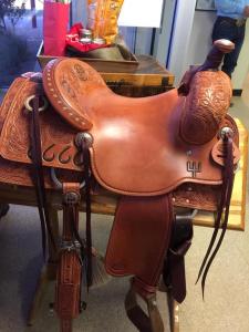 Ken Raye Custom Saddle